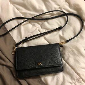 Michael Kors Pebbled Leather Crossbody Bag